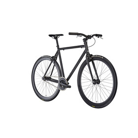 FIXIE Inc. Floater - Bicicleta urbana - negro mate